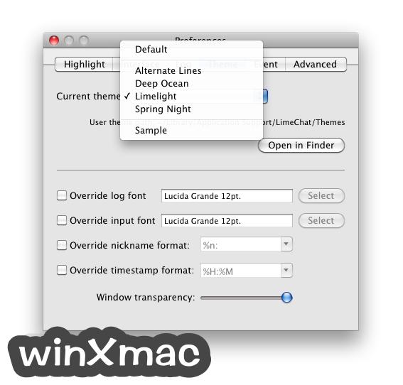 LimeChat for Mac Screenshot 5