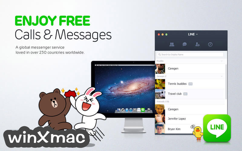 LINE for Mac Screenshot 1