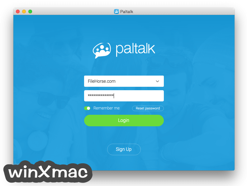 Paltalk for Mac Screenshot 1