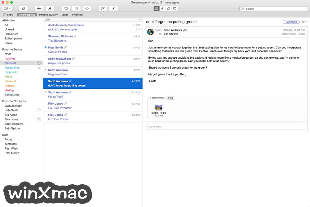 Postbox for Mac Screenshot 4