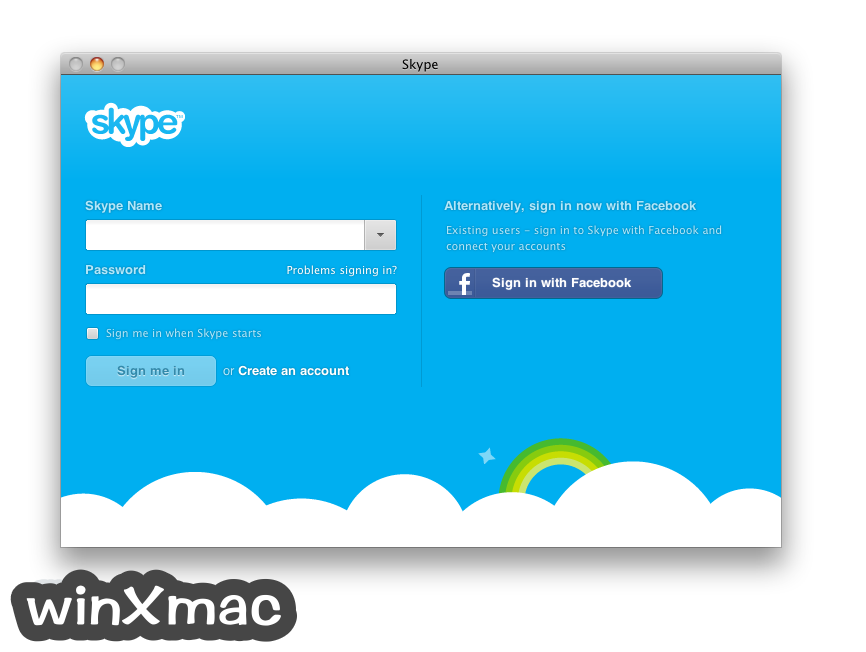 Skype for Mac Screenshot 1