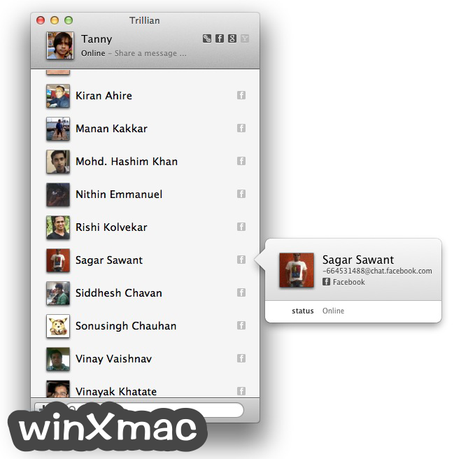 Trillian for Mac Screenshot 1