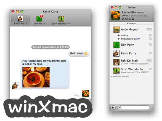 Trillian for Mac Screenshot 3