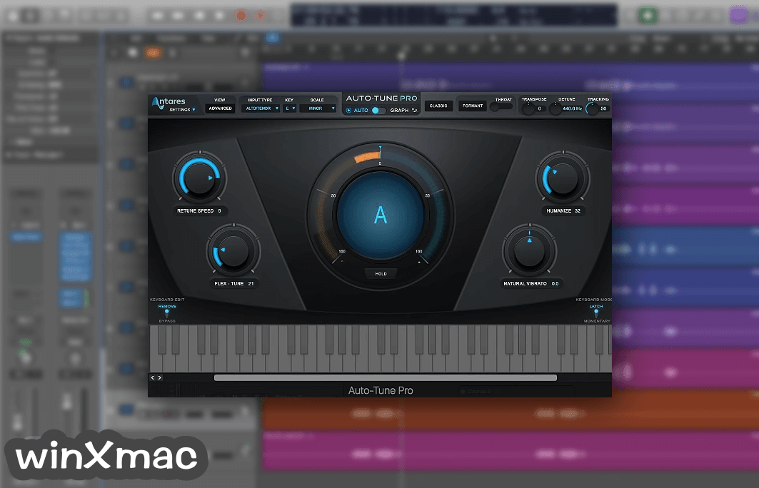 Auto-Tune Pro for Mac Screenshot 1