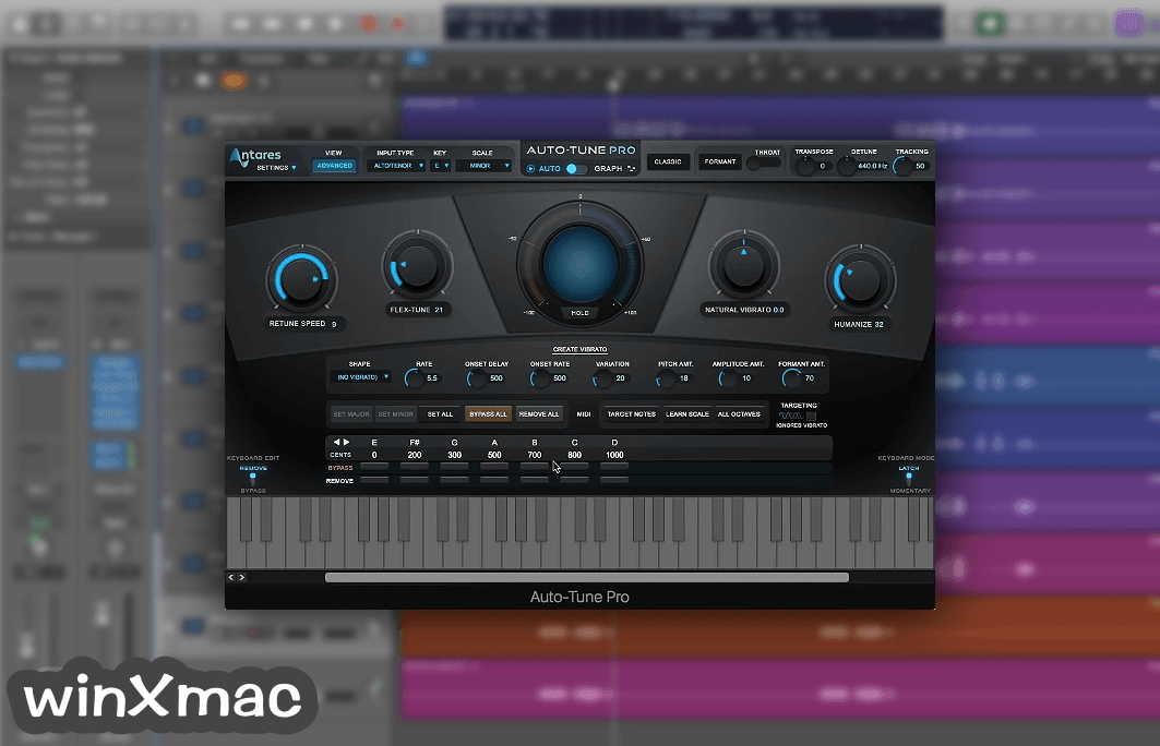 Auto-Tune Pro for Mac Screenshot 2