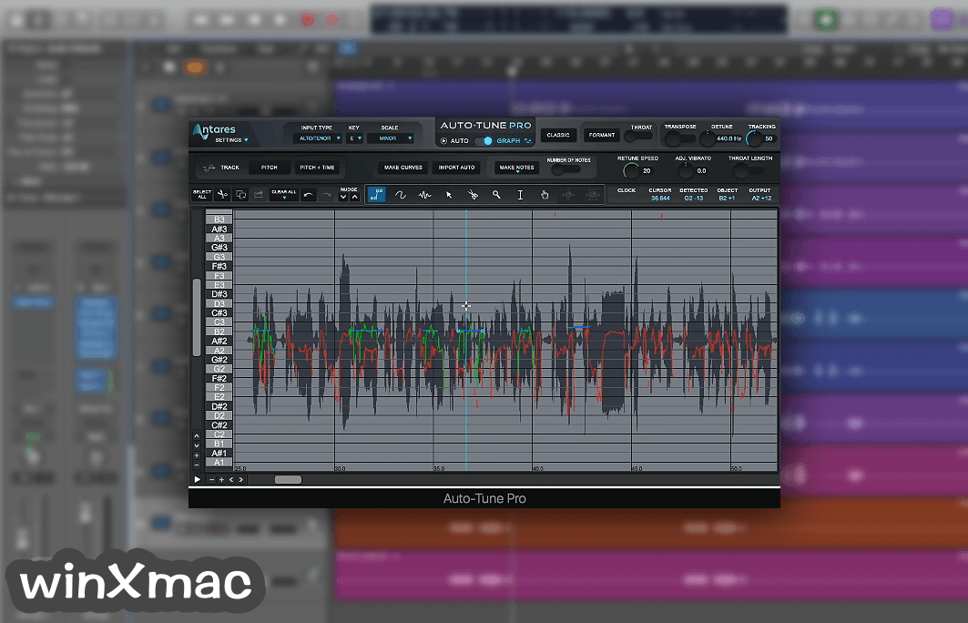 Auto-Tune Pro for Mac Screenshot 3