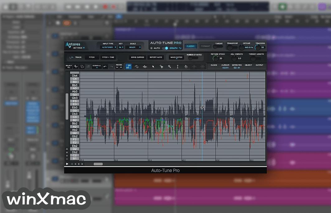 Auto-Tune Pro for Mac Screenshot 4