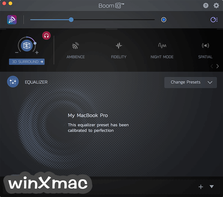 Boom 3D for Mac Screenshot 2