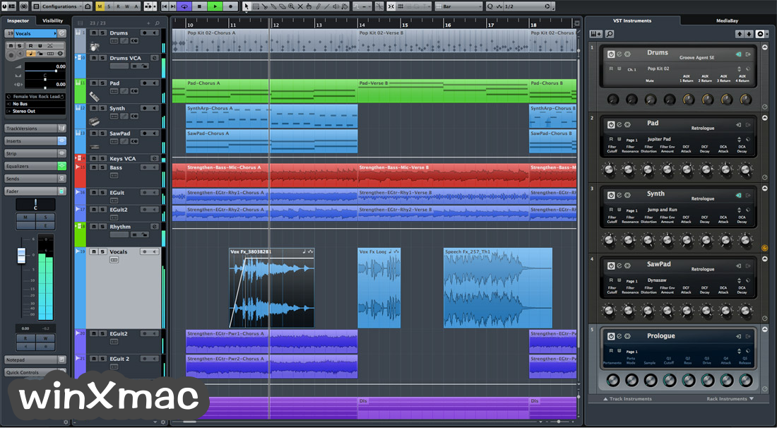 Cubase Pro for Mac Screenshot 1