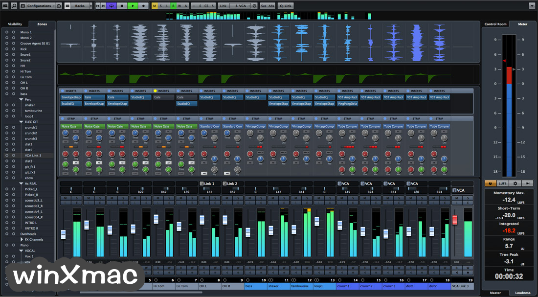 Cubase Pro for Mac Screenshot 2