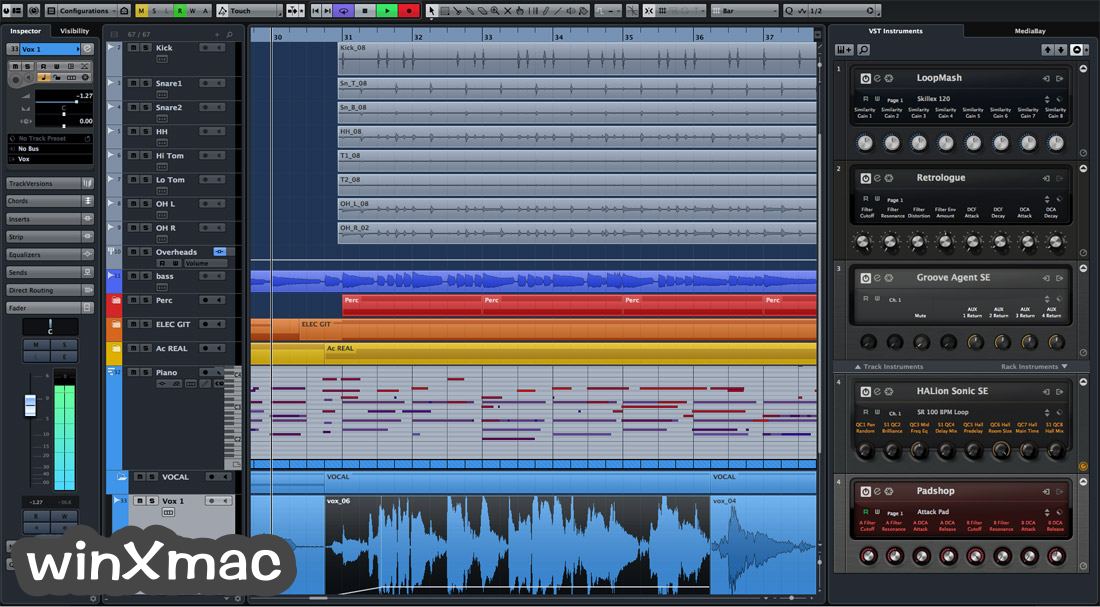 Cubase Pro for Mac Screenshot 3