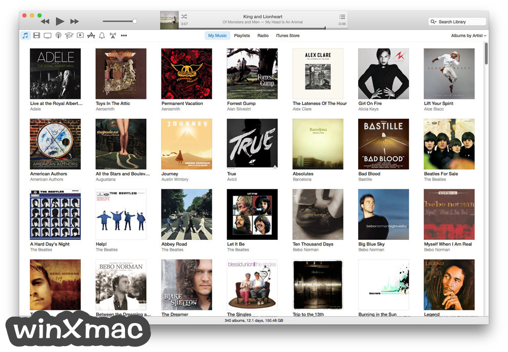 iTunes for Mac Screenshot 1