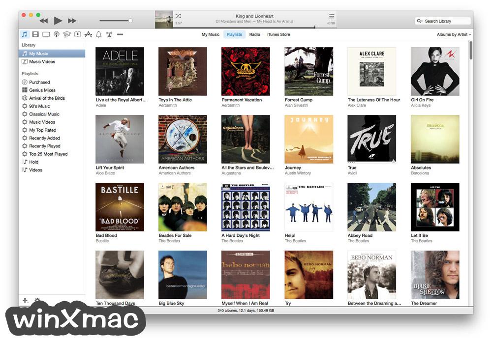 iTunes for Mac Screenshot 2