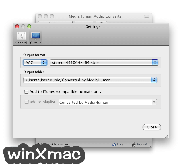 MediaHuman Audio Converter for Mac Screenshot 3