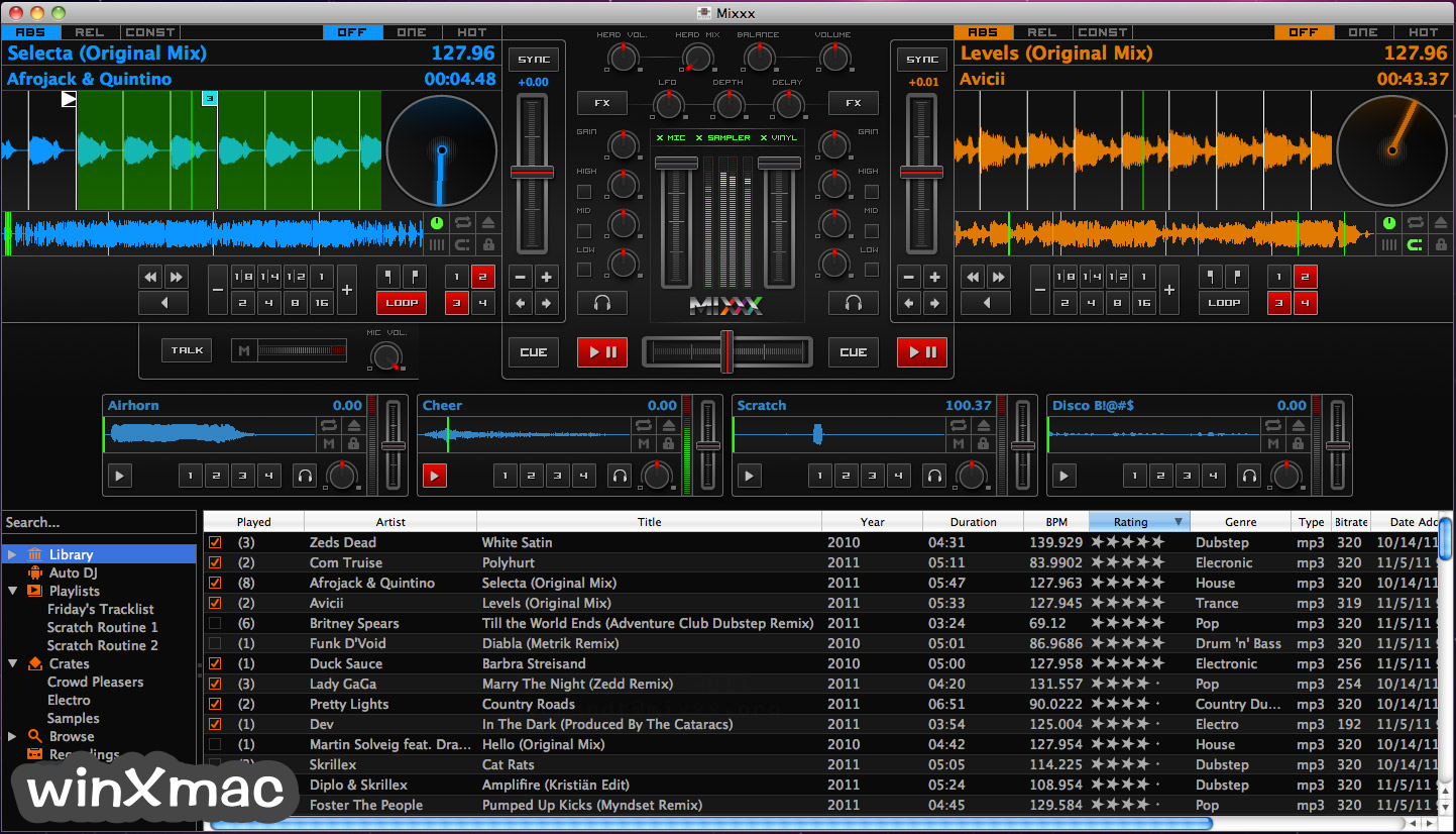 Mixxx for Mac Screenshot 1