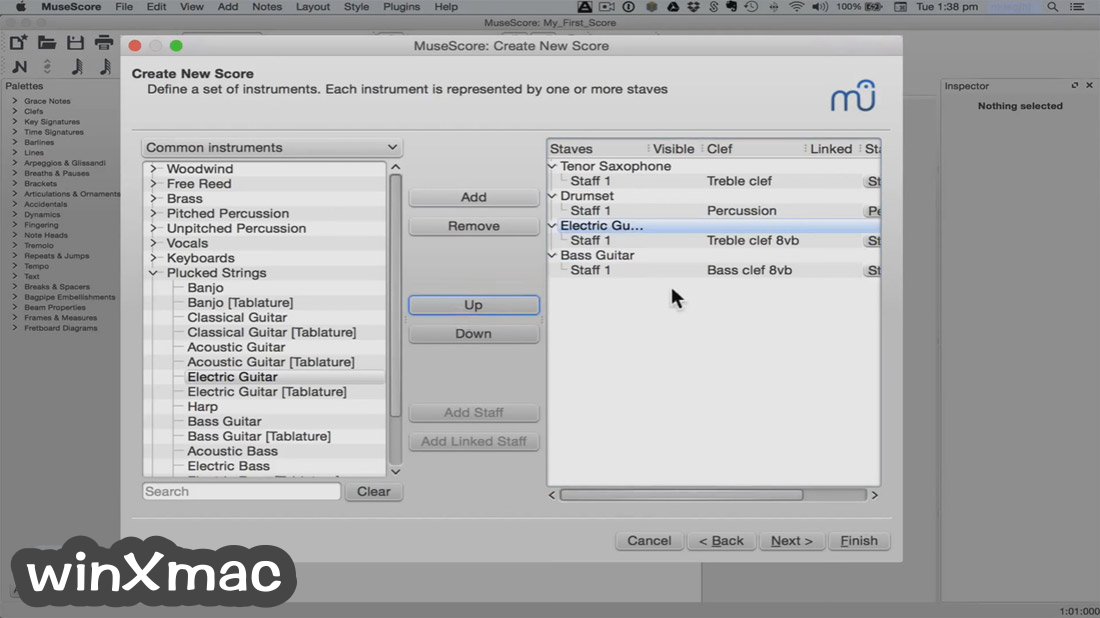 MuseScore for Mac Screenshot 2