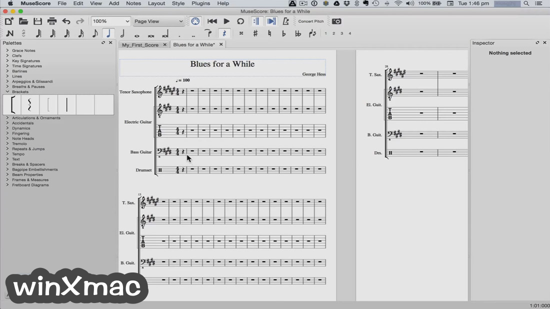 MuseScore for Mac Screenshot 3