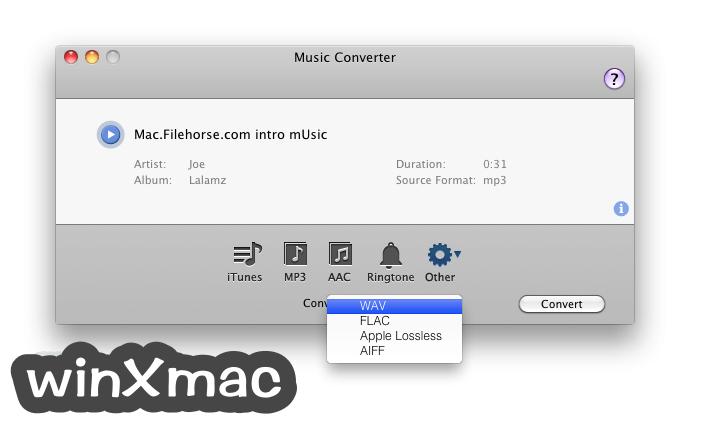 Music Converter for Mac Screenshot 2