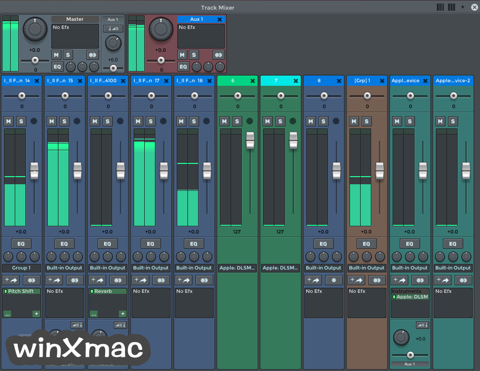 n-Track Studio for Mac Screenshot 2