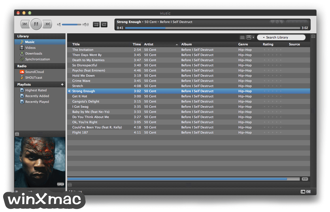 Nightingale for Mac Screenshot 1