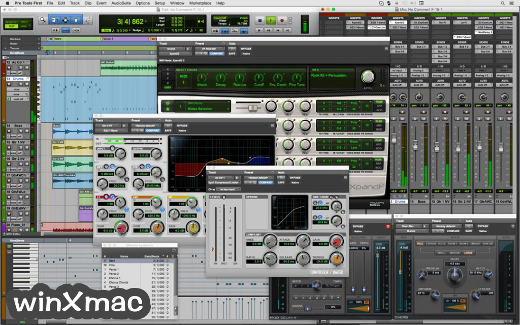 Pro Tools 12 8 3 for Mac 軟體資訊交流 - winXmac軟體社群
