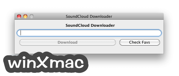 Soundcloud Downloader for Mac Screenshot 1