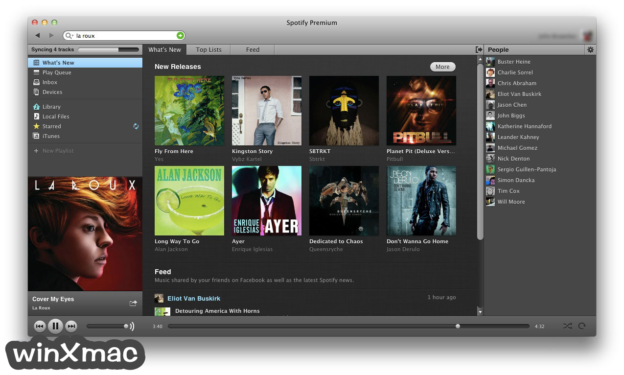 Spotify for Mac Screenshot 1