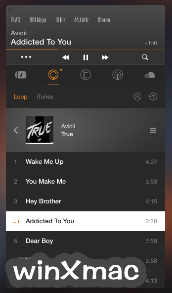 VOX Player for Mac Screenshot 1