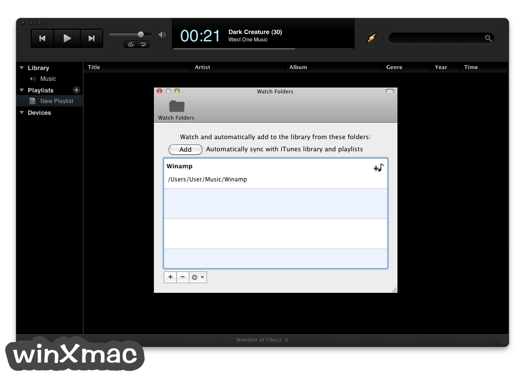 Winamp for Mac Screenshot 2