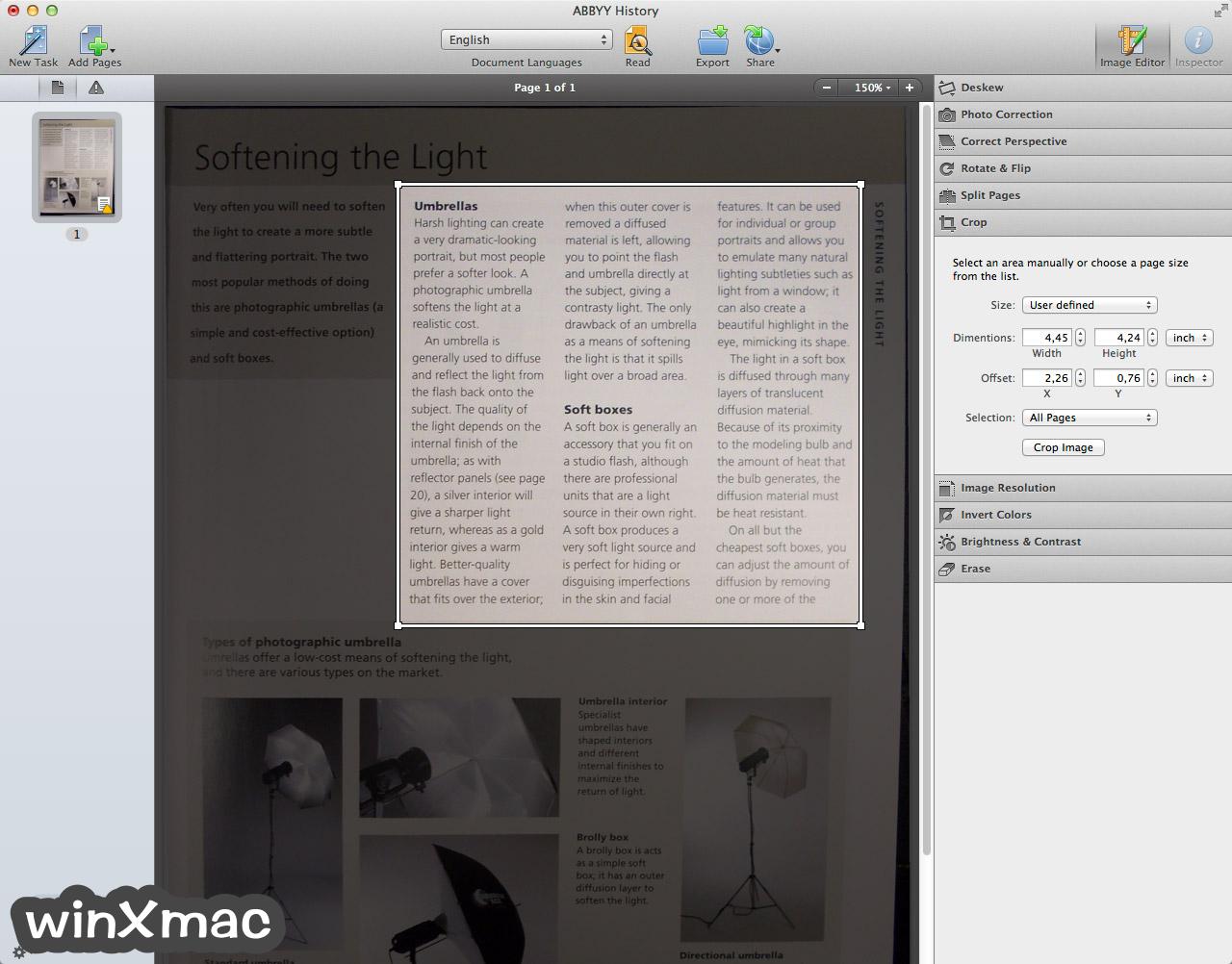 ABBYY FineReader Pro for Mac Screenshot 3