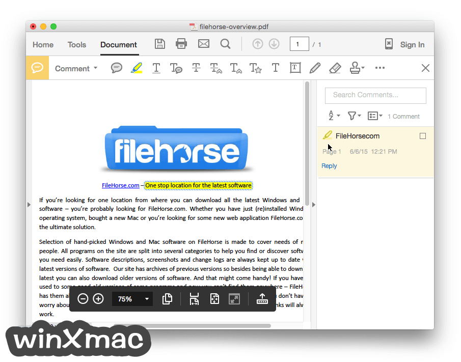 Adobe Acrobat Reader DC for Mac Screenshot 4