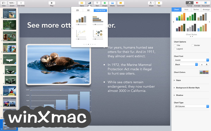 Apple Keynote for Mac Screenshot 2