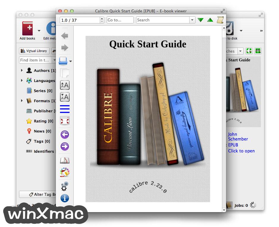 Calibre for Mac Screenshot 2