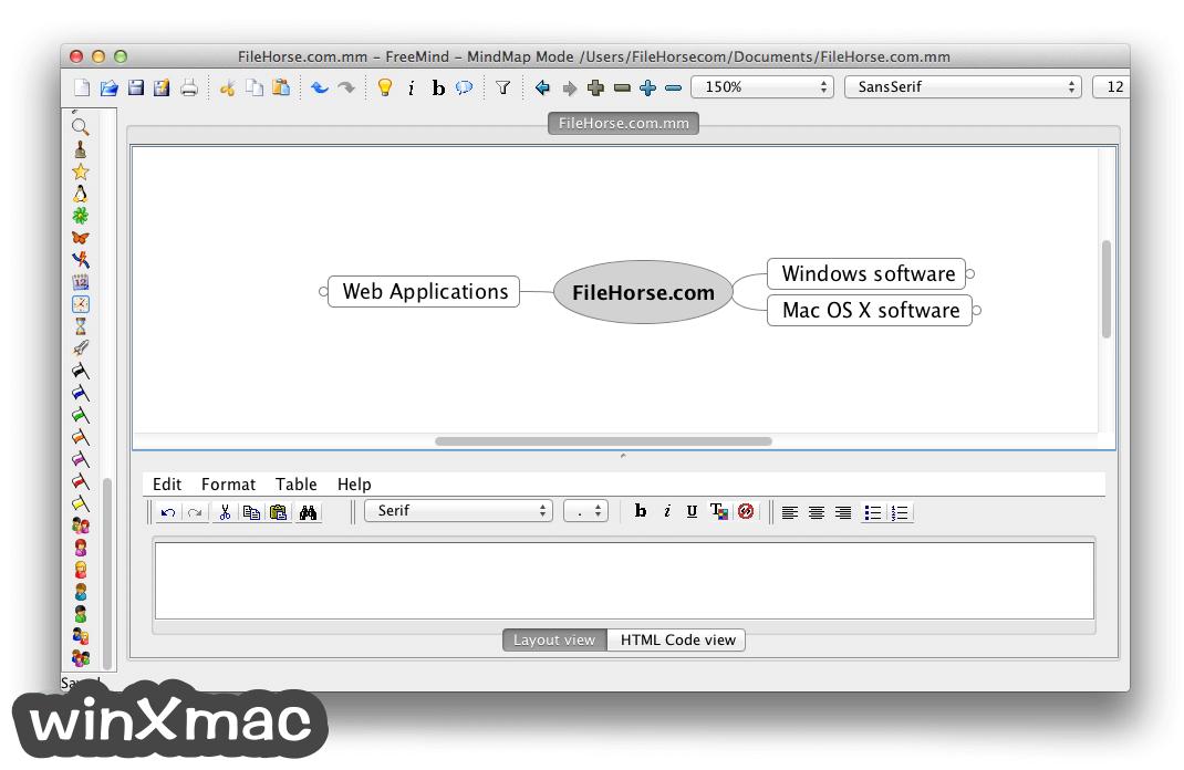 FreeMind for Mac Screenshot 1