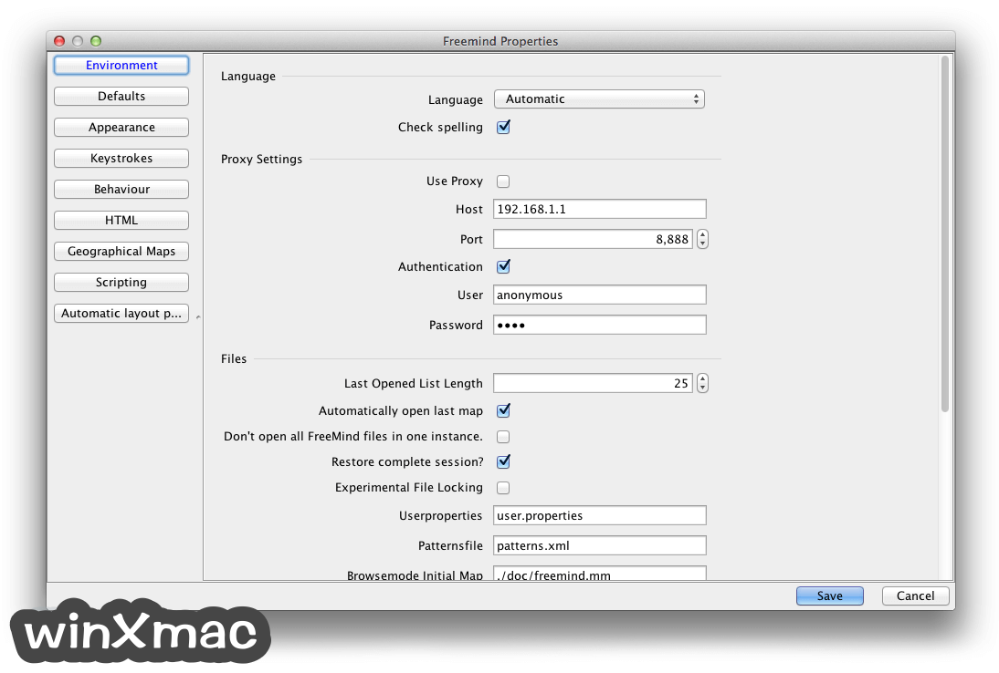 FreeMind for Mac Screenshot 4