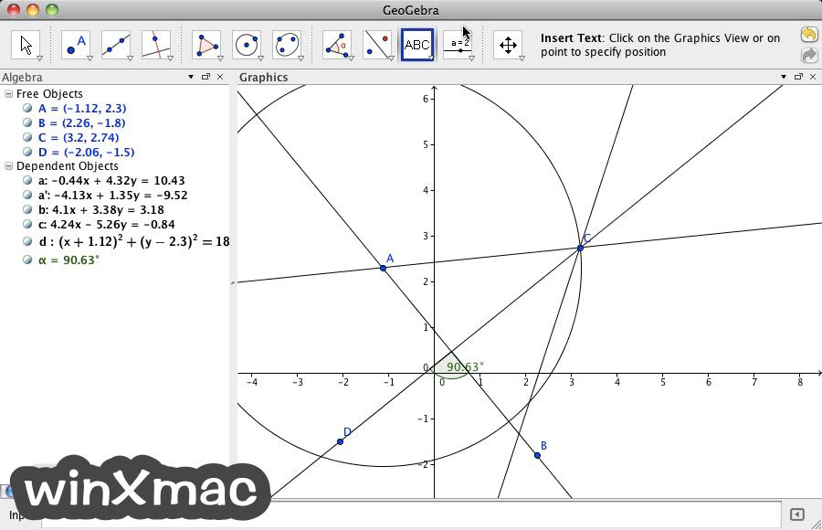 GeoGebra for Mac Screenshot 1