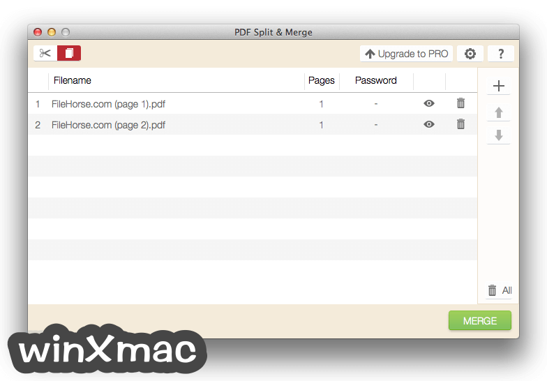 IceCream PDF Split & Merge for Mac Screenshot 3