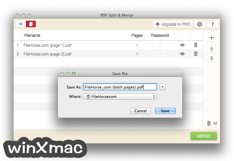 IceCream PDF Split & Merge for Mac Screenshot 4