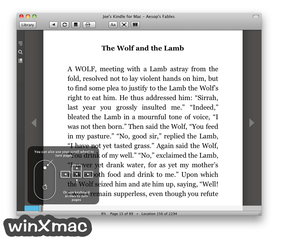 Kindle for Mac Screenshot 3