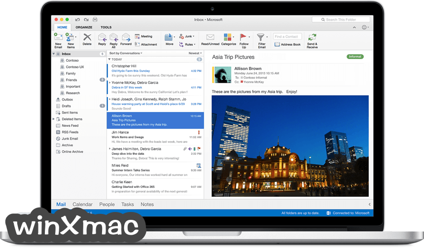 Microsoft Office for Mac Screenshot 5