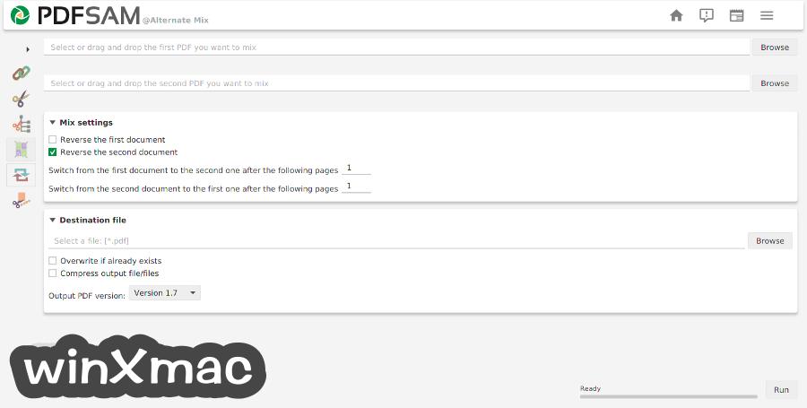 PDFsam Basic for Mac Screenshot 3