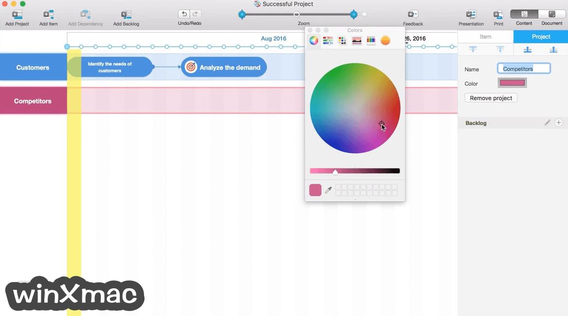 Roadmap Planner for Mac Screenshot 2
