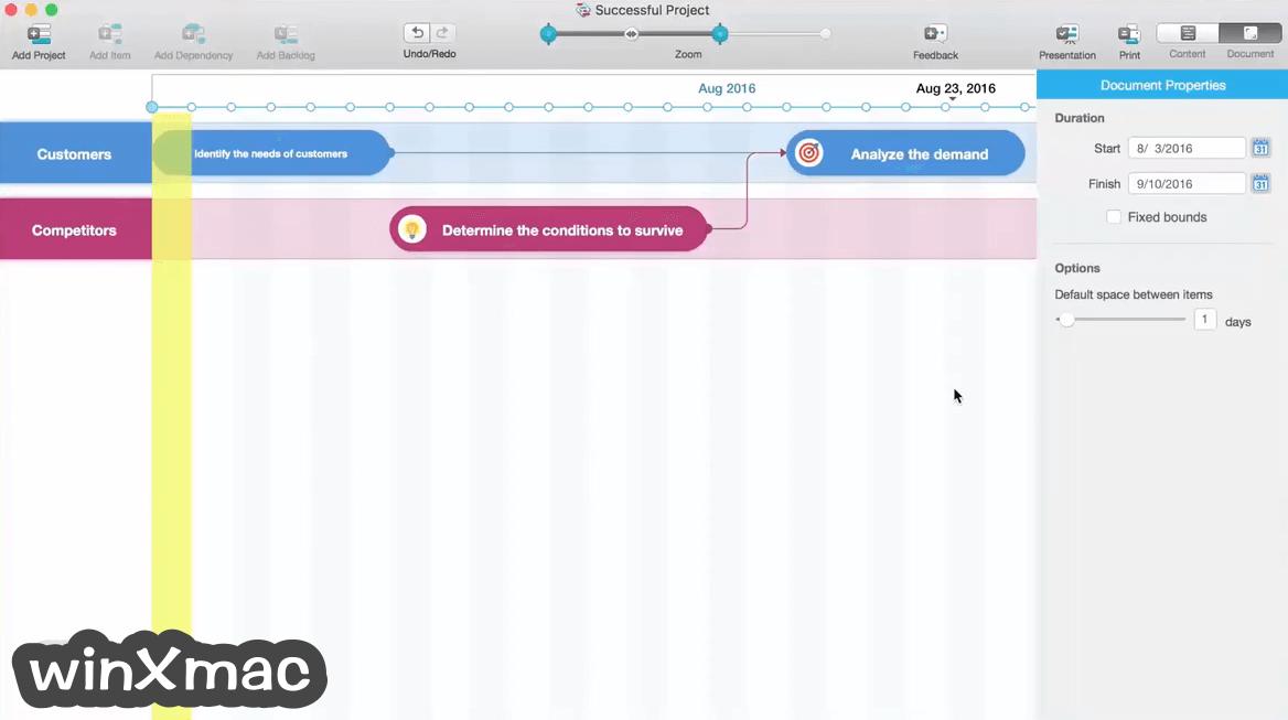 Roadmap Planner for Mac Screenshot 3