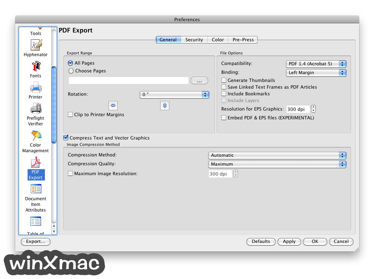 Scribus for Mac Screenshot 5