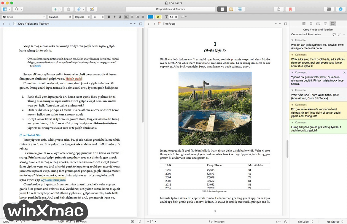 Scrivener for Mac Screenshot 3