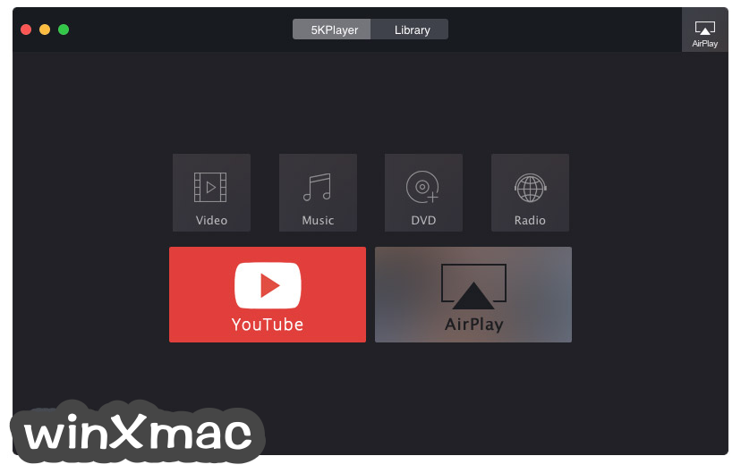 5KPlayer for Mac Screenshot 1