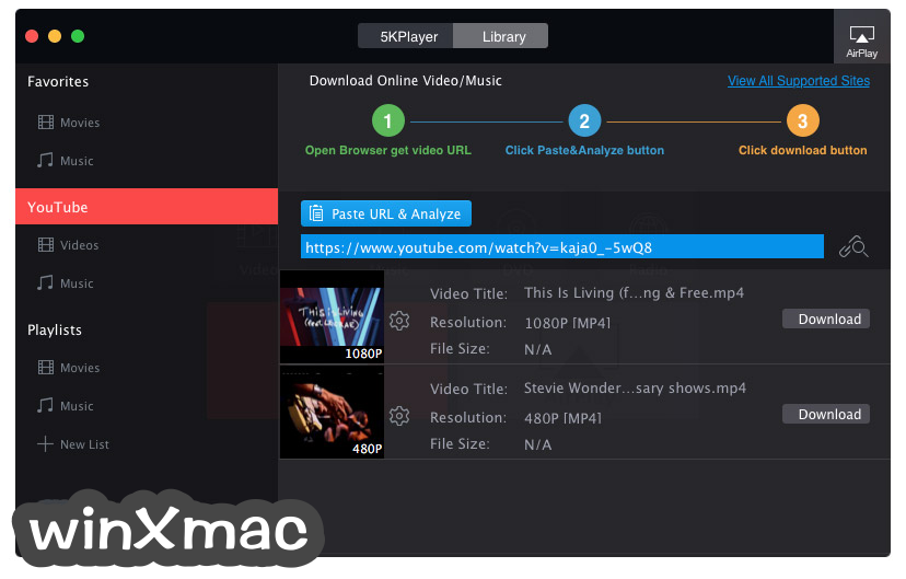 5KPlayer for Mac Screenshot 3