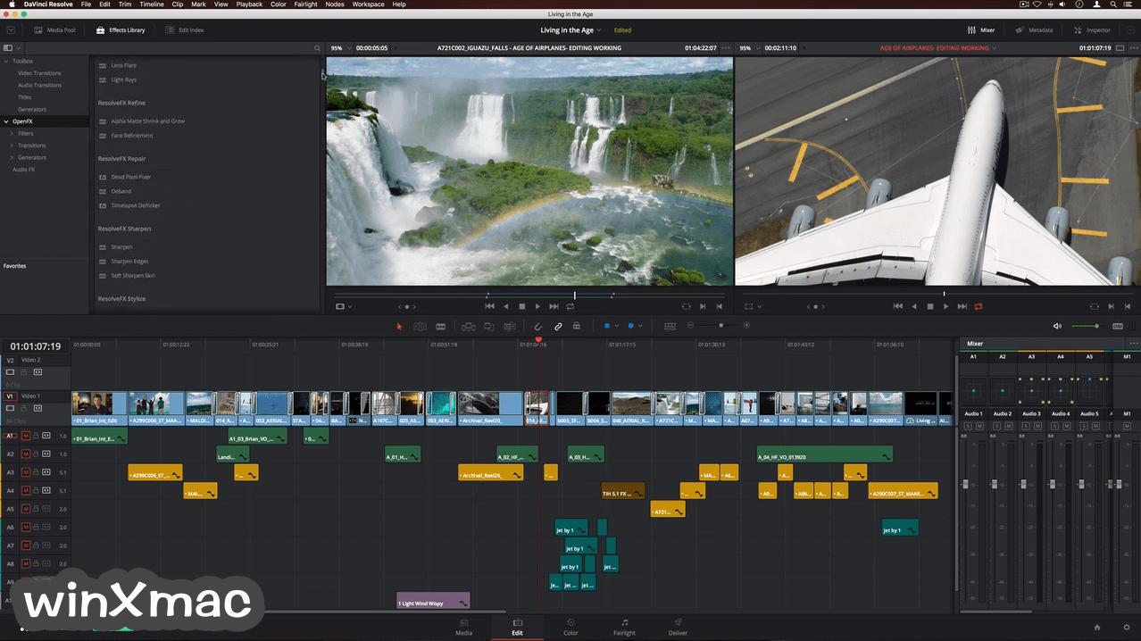 DaVinci Resolve for Mac Screenshot 2