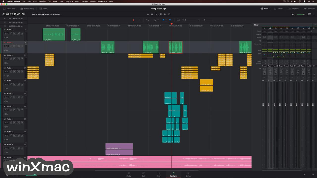 DaVinci Resolve for Mac Screenshot 3