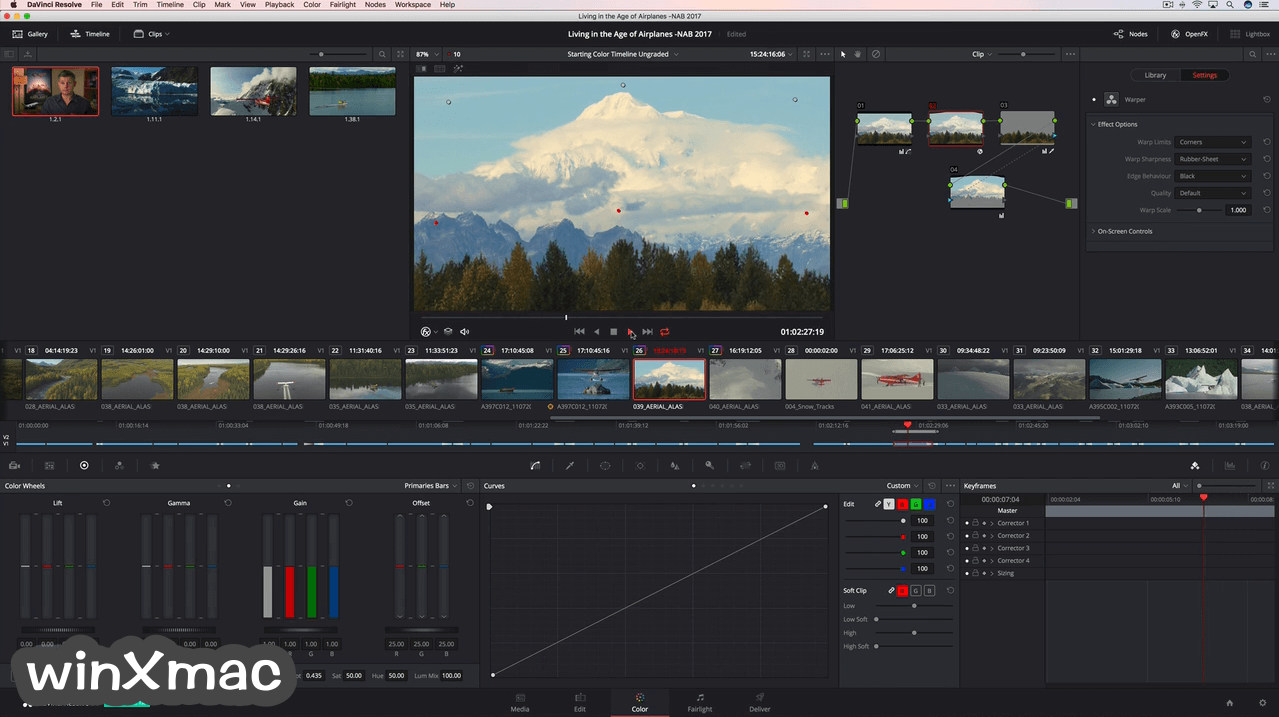 DaVinci Resolve for Mac Screenshot 4